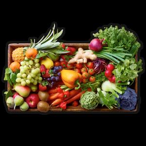 Obst- und Gemüse Boxen